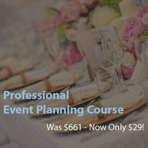 Professional Event Planning Course – 96% OFF