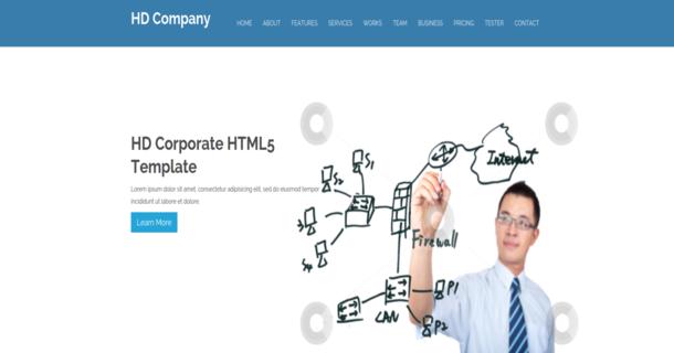 Hd Company Template