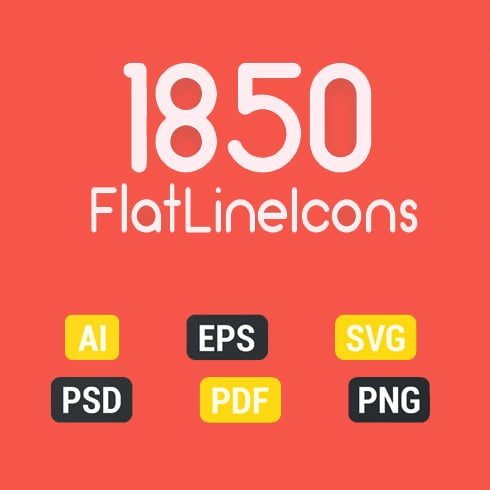 BEST PRICE: 800 Color Flat Line Web Icons - just $16 - icons 2