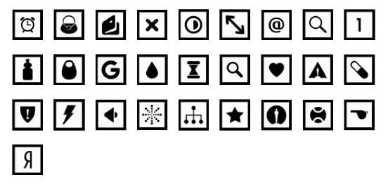 metro-square-design-icons