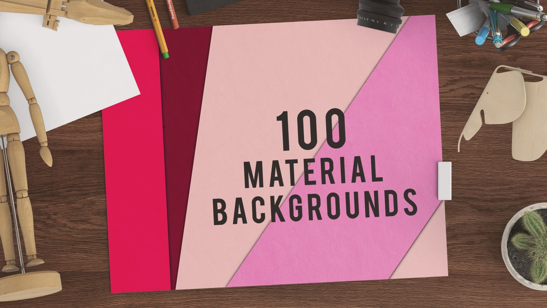 100 Material Backgrounds