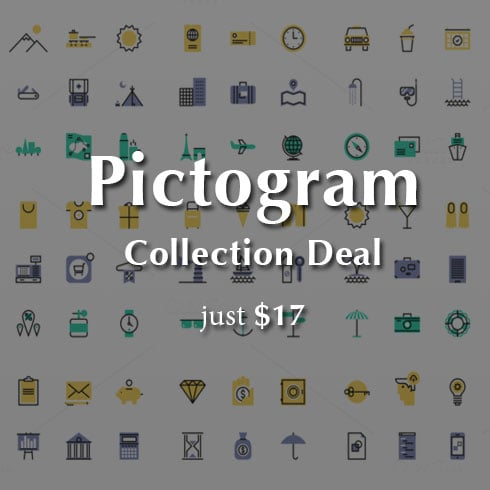 450 Pictogram Collection – just $17