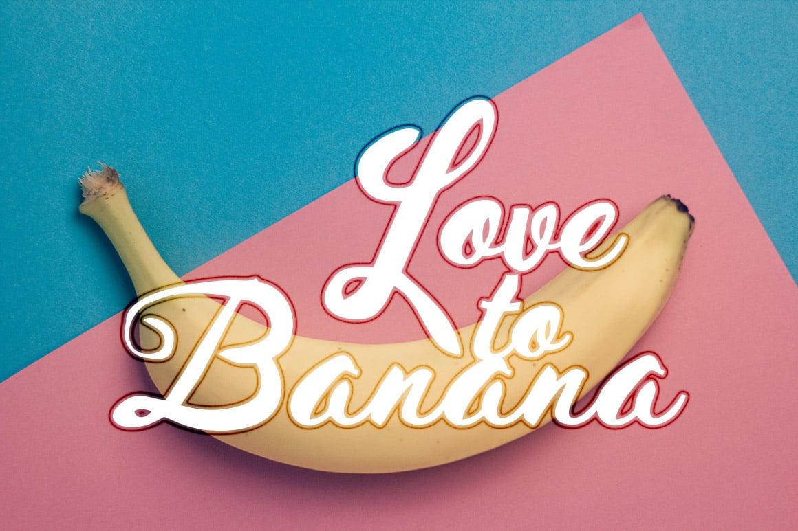 Love to banana.