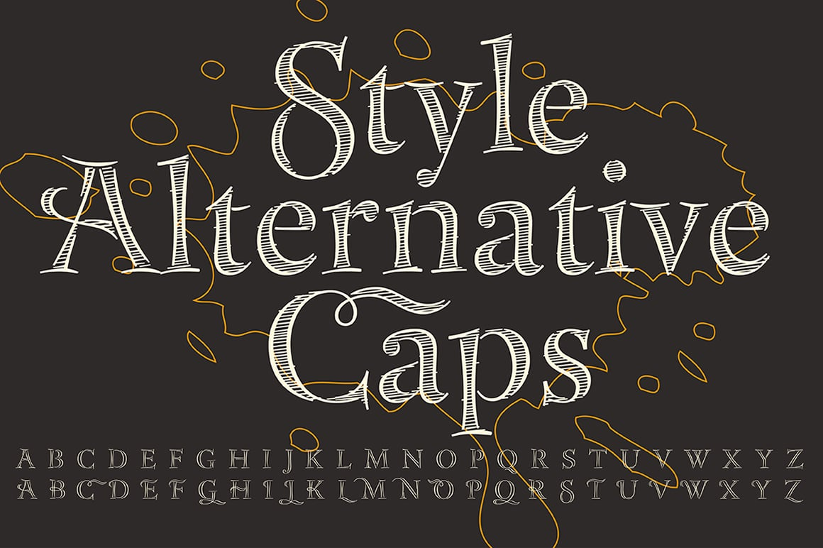Bakersville Font TypeFaith Grunge Bundle: 18 Creative Fonts