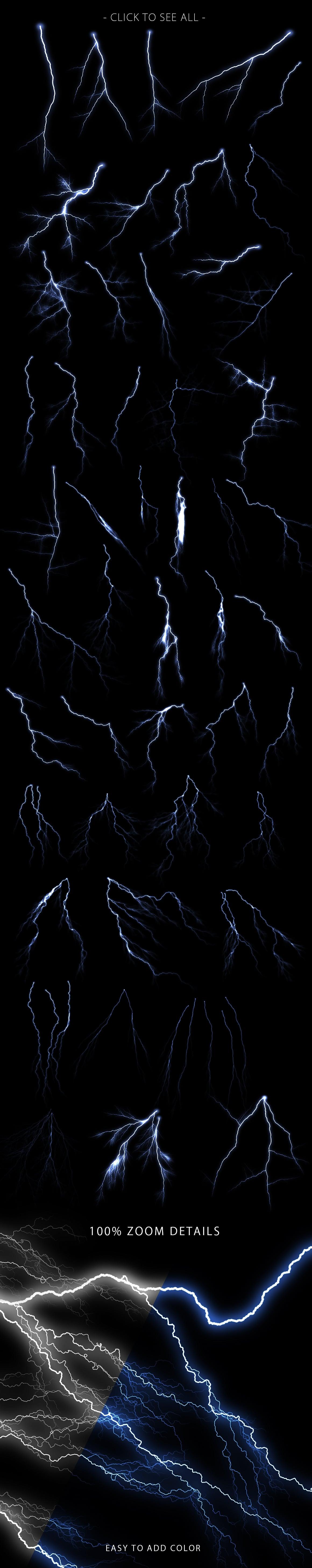 Lightning photoshop brushest prev2