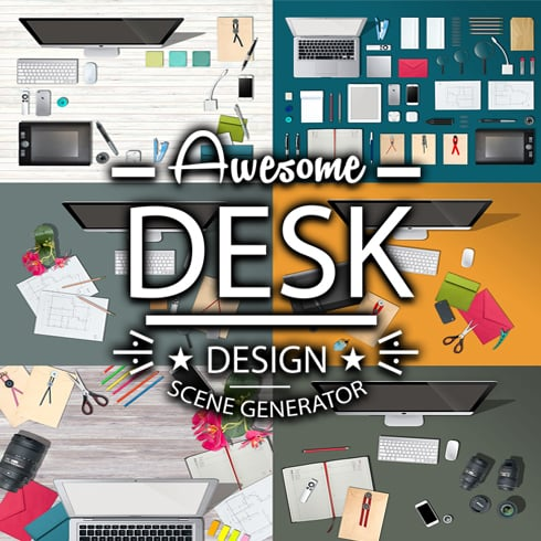 The Desk – Awesome Scene Generator - Only $11 - main thumnbail