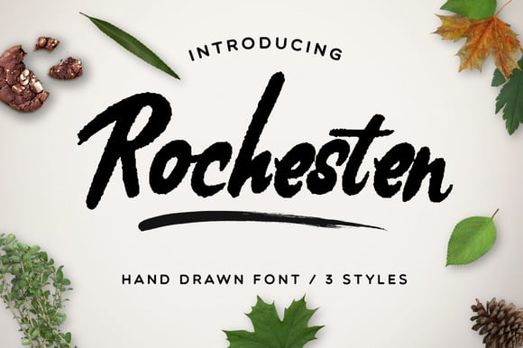 Handwritten Fonts Bundle