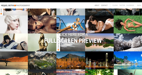 Photo Grid Html5 Template