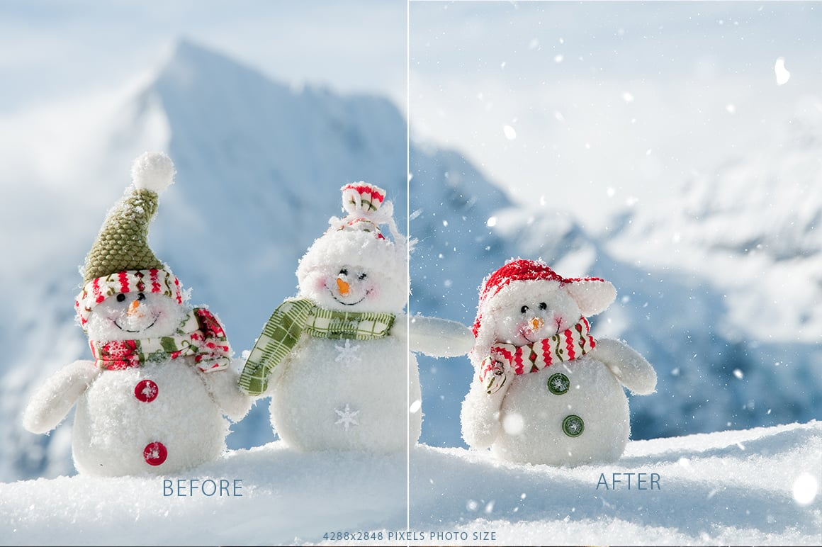 real snow photoshop action prev3