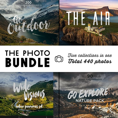 The Photo Bundle: 440 Amazing Photographs – just $29