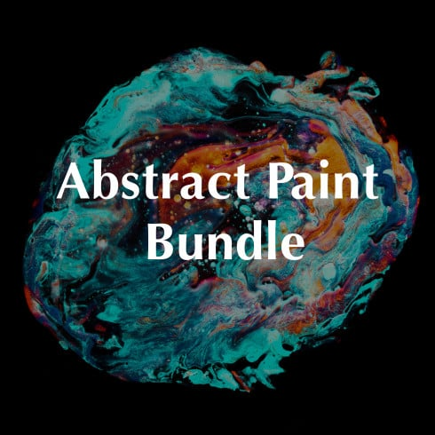 Abstract Paint Background: 40 Best Paintings Background in 2020 - $30 Only! - Abstract Paint Vol 01 051 490x490
