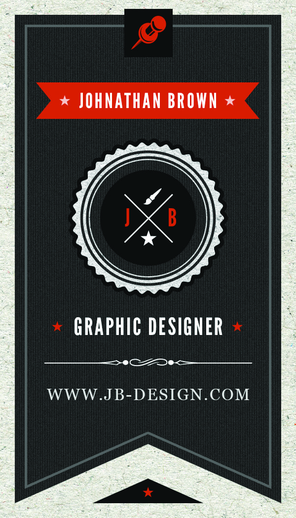 Business Card 11 - Front
