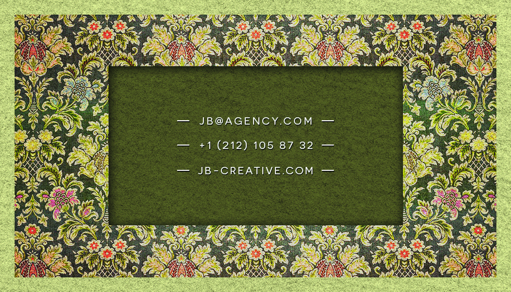 Business Card 13 - Back