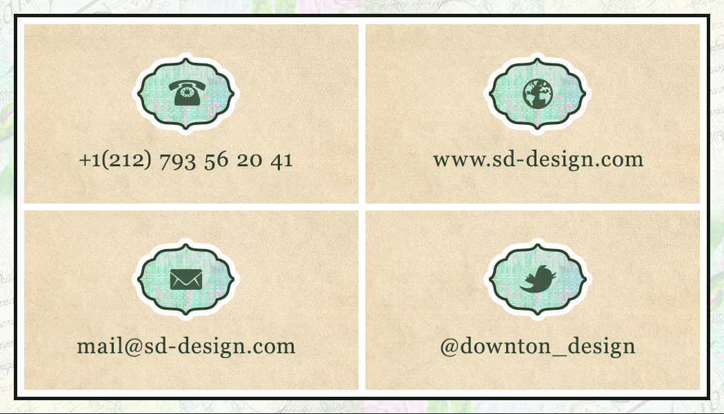 Business Card 14 - Back