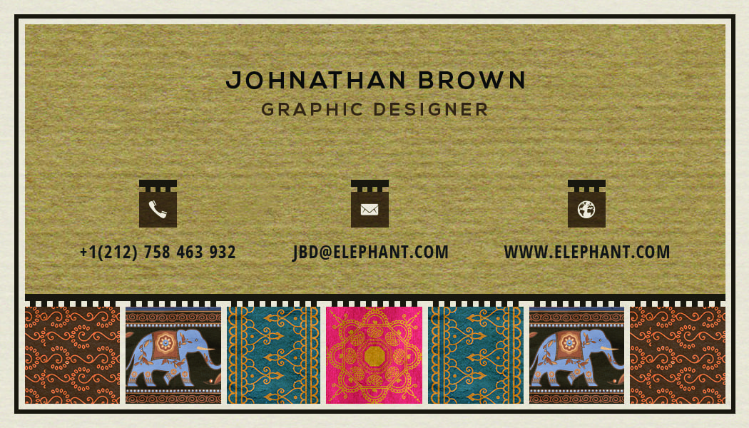 Business Card 15 - Back