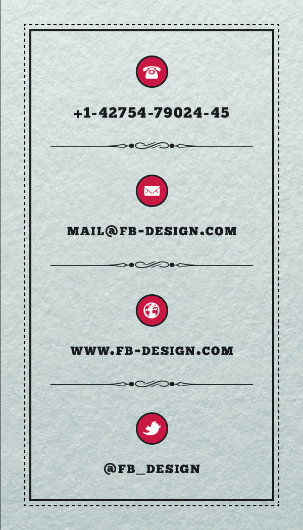 Business Card 2 - Back