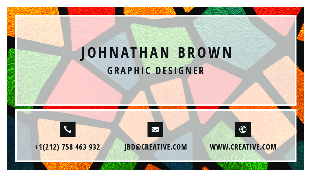 Business Card 3 - Back