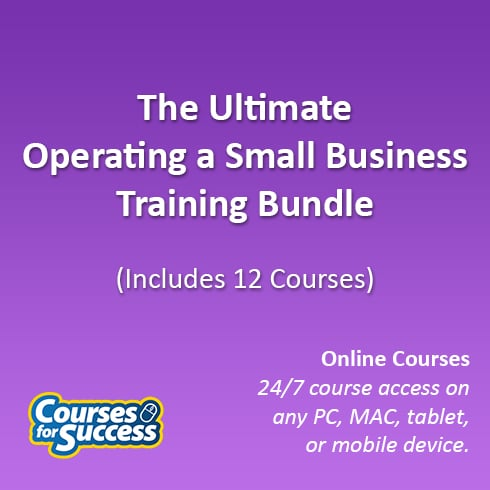 The Ultimate Operating a Small Business Training Bundle, 12 Courses