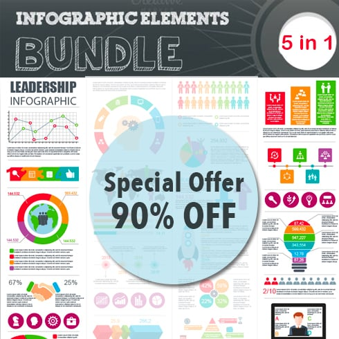 5 Incredible Infographic Templates - only $10! - Untitled 24