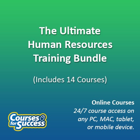 The Ultimate Human Resources Training Bundle, 14 Courses