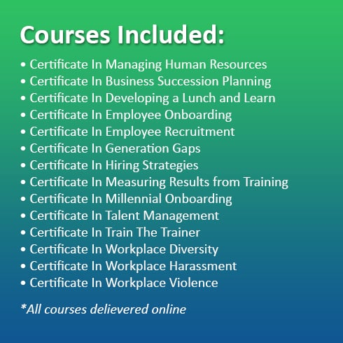 the ultimate human resources training bundle, 14 courses - master ...