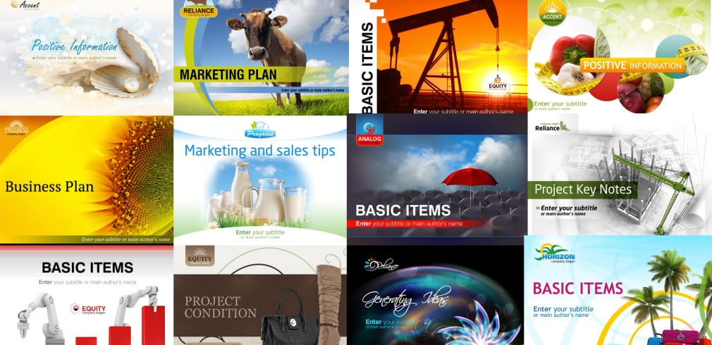 50 PowerPoint Templates