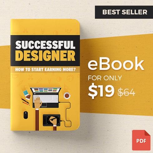 eBook: How to Start Earning More? Successful Designer - 49015