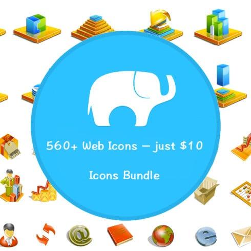 Icons Bundle: 560+ Web Icons – just $10