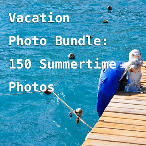 Vacation Photo Bundle: 150 Summertime Photos – just $8