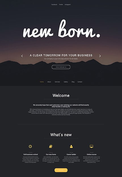 Business Services WP Theme