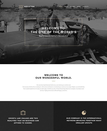 Business Services WP Template