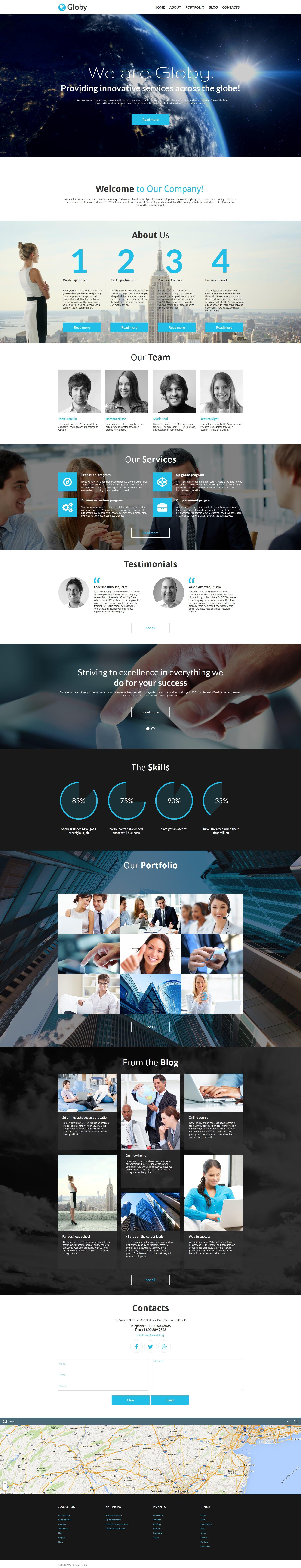 3 Business Moto CMS HTML Templates - just $49 - 58468 original
