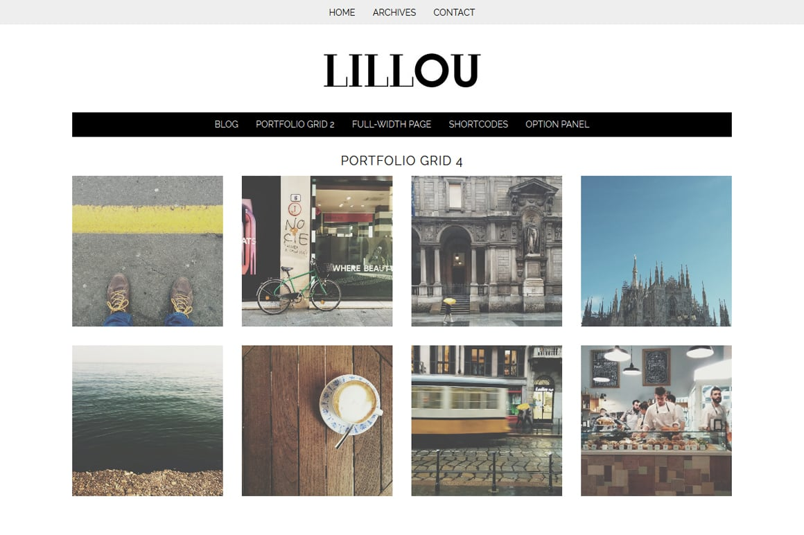 Lillou - Fashion WordPress