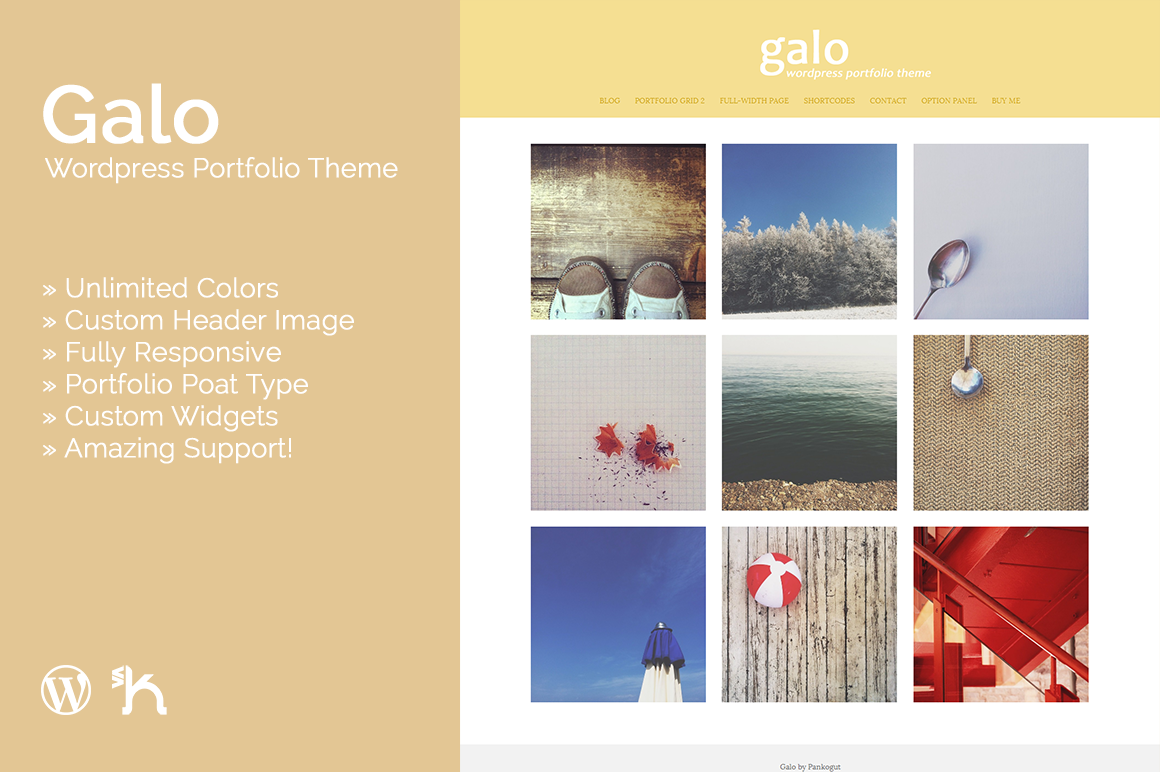 Galo - WordPress Portfolio Theme