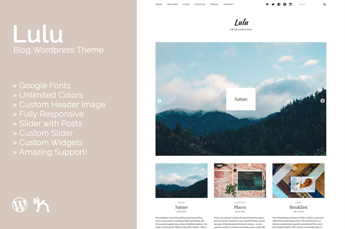 Lulu - Blog Theme