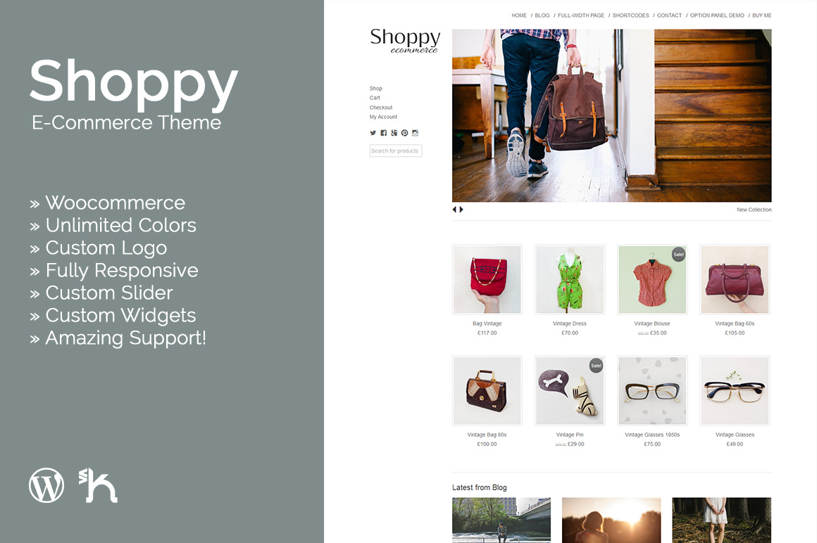 Shoppy - WordPress Ecommerce Theme