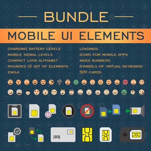 UI Bundle: Amazing Mobile UI Elements