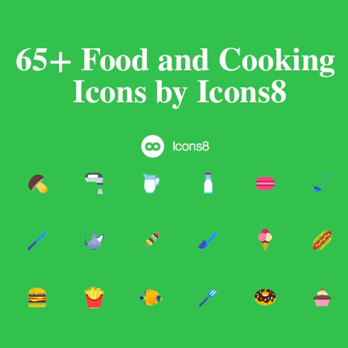 65+ Free Food and Cooking Icons by Icons8 - 4908