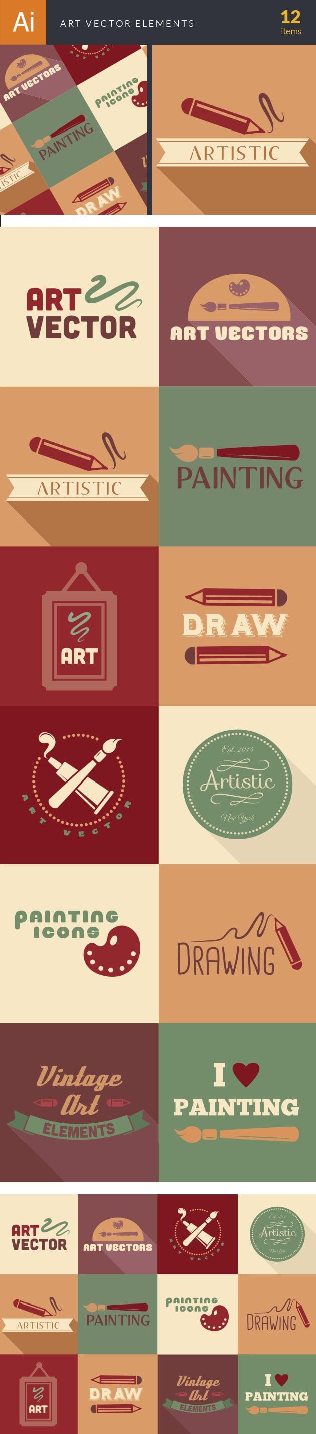 designtnt-art vector elements-vector