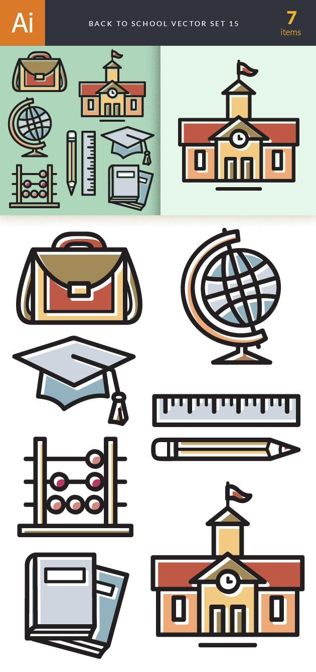 designtnt-back to school vector set 15-vector