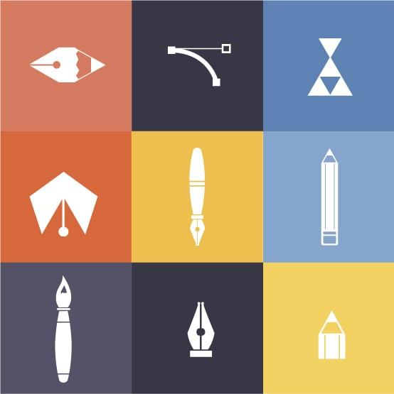 designtnt-metro design icons 1-vector