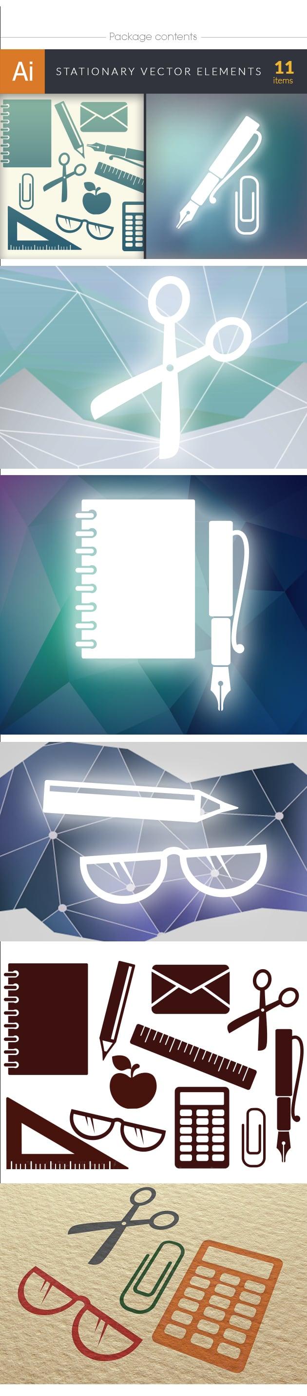 designtnt-stationary vector elements set 1-vector