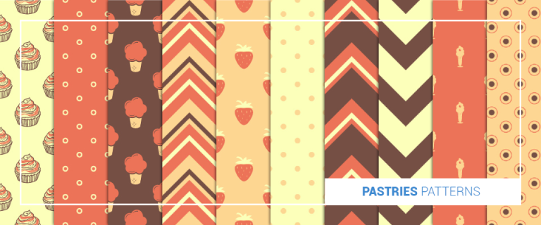 pastries patterns