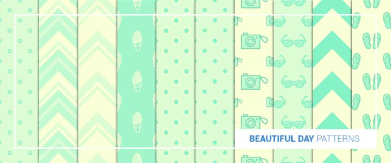 beautiful day patterns