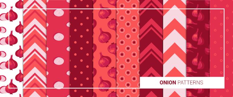 onion patterns