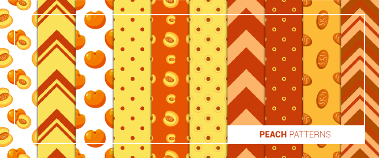 peach patterns