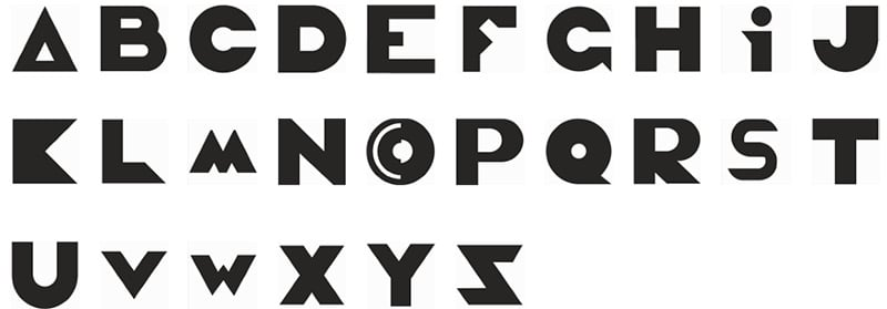 modern-alphabet