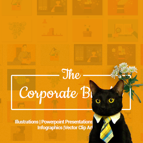 Flat Clip Art Corporate Bundle for a Professional Design – Only $15 - corporate bundle 490x490 1