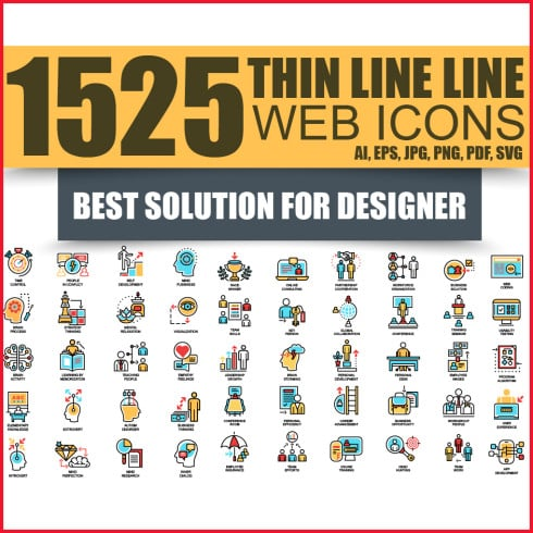 A Comprehensive Icon Bundle: 1525 Icons That You'll Love - glavnaya490 490x490