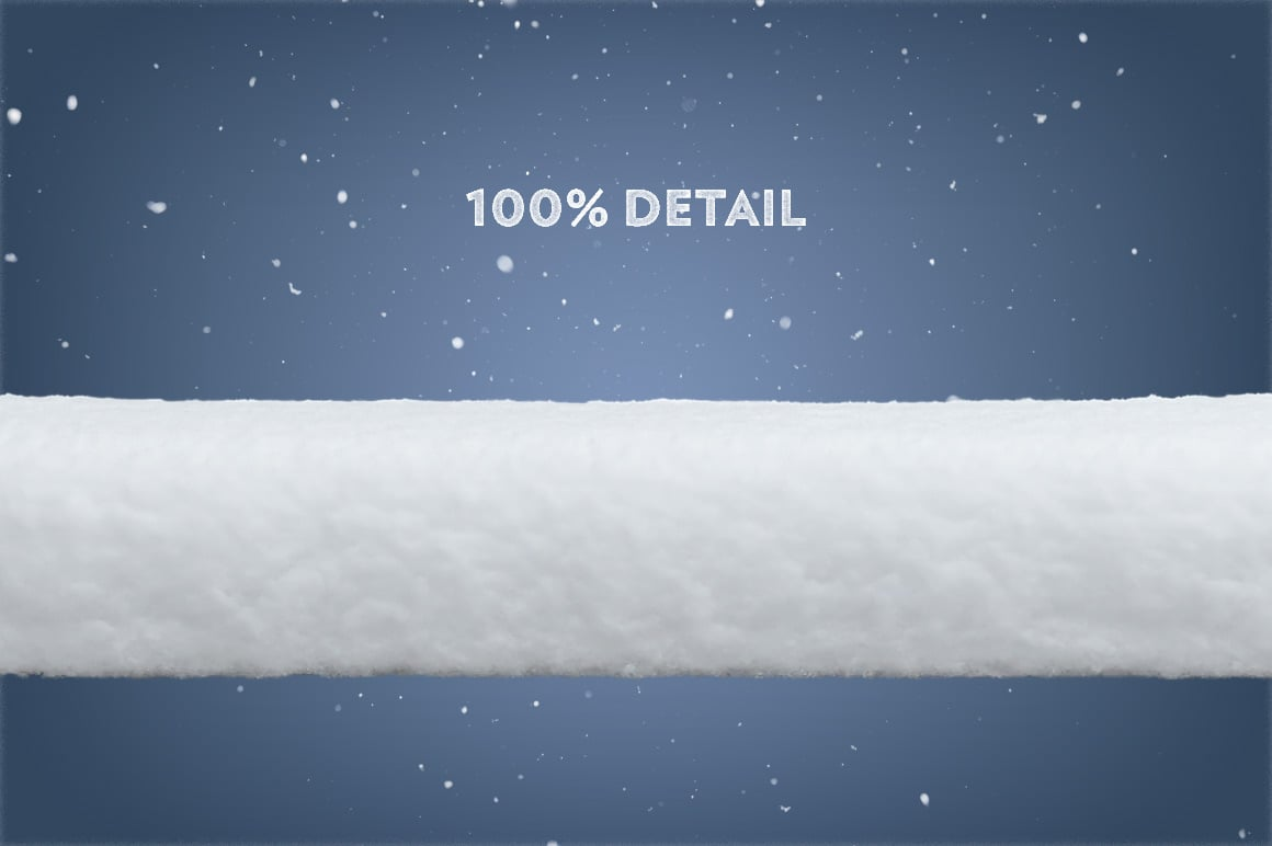 Snow Line Elements and Icicles (38 PNG-files)